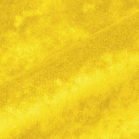 Moresco - Yellow - Bright summer yellow coloured 100% Trevira CS fabric made with no pattern