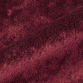 Moresco - Pink Purple - Plum coloured 100% Trevira CS fabric made with a subtle texture but no pattern