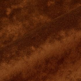 Moresco - Brown6 - Coppery brown coloured, slightly textured fabric made entirely from Trevira CS