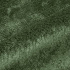Moresco - Grey5 - Slightly patchy forest green colouring covering subtly textured 100% Trevira CS fabric