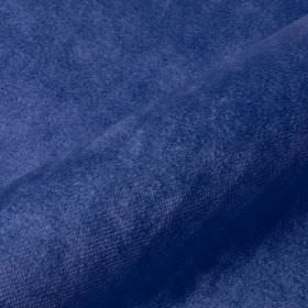 Teatro - Blue2 - Fabric made from a Royal blue coloured blend of slightly textured dralon and polyester