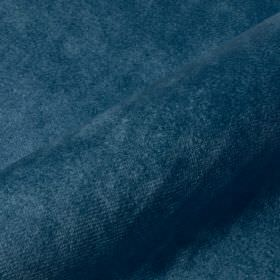 Teatro - Blue4 - Marine blue coloured dralon and polyester blend fabric finished with a very slight texture