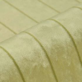 Inconel - Cream (1) - Light brown-beige coloured lines running at even intervals over light cream-beige dralon and polyester blend fabric
