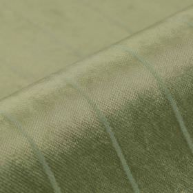 Inconel - Taupe (12) - Dralon and polyester blend fabric created with a slight sheen and a very simple, thin stripe pattern in two shades of g