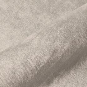 Teatro - Grey2 - Plain fabric made from dralon and polyester in a very light silvery grey colour