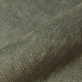 Teatro - Green (19) - Iron grey coloured dralon and polyester blend fabric made with a slight texture but no pattern