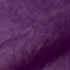 Teatro - Purple1 - Royal purple coloured dralon and polyester blend fabric with a plain but a slightly textured finish