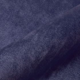 Teatro - Purple2 - Navy blue coloured dralon and polyester blended together into a plain, slightly textured fabric