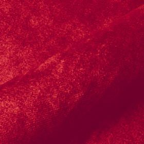 Teatro - Red (30) - Burgundy coloured dralon and polyester blend fabric featuring a luxurious, slightly textured finish