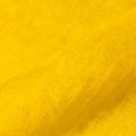 Teatro - Yellow (37) - Bright yellow coloured fabric containing a plain combination of dralon and polyester