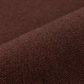 Samba - Merlot (39) - Cotton and viscose blend fabric woven using grey and dark aubergine coloured threads