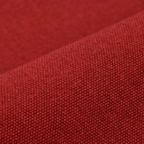 Samba - Red - Fabric made from a dusky red coloured blend of cotton and viscose