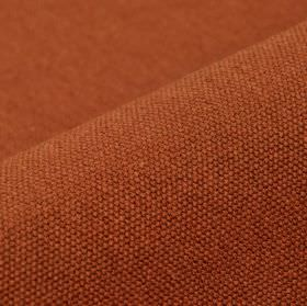 Samba - Dark Orange - Cotton and viscose blend fabric woven in a plain bronze colour