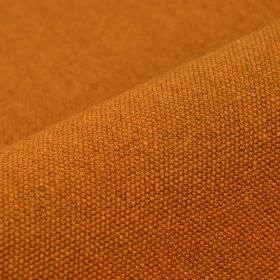 Samba - Orange - Cork coloured cotton and viscose blend fabric woven with no pattern