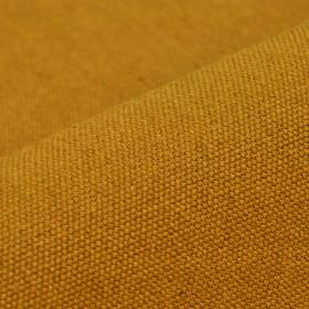 Samba - Saffron - Plain golden honey coloured cotton and viscose blend fabric