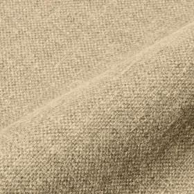 Mandrage - Beige (5) - Light grey and off-white coloured threads woven together into a linen and polyester blend fabric