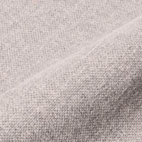 Mandrage - Grey Beige (6) - Linen and polyester blend fabric woven using a combination of white and very pale blue coloured threads