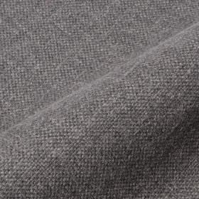 Mandrage - Dark Grey (9) - Plain dark grey coloured linen and polyester blend fabric