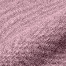 Mandrage - Pink (10) - Plain fabric woven from light lilac coloured threads blended from linen and polyester