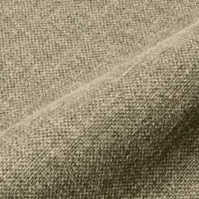 Mandrage 290cm - Taupe - Fabric made from linen and polyester using light grey and off-white coloured threads
