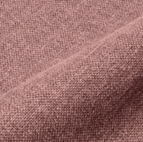 Mandrage - Purple Pink (14) - Purple and off-white coloured threads woven together into a linen and polyester blend fabric