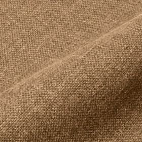Mandrage 290cm - Tan - Fabric woven from linen and polyester in warm brown and light cream colours