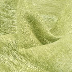 Chunga - Green - Fabric woven entirely from very pale green coloured linen