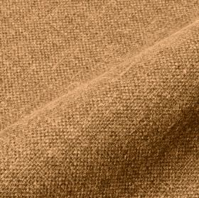 Mandrage - Camel (16) - Rich cream and coppery brown coloured threads woven together into a linen and polyester blend fabric