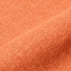 Mandrage 290cm - Orange - Linen and polyester blend fabric made in a plain, bright, rich coral colour
