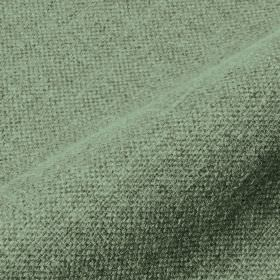 Mandrage 290cm - Green - Fabric made from linen and polyester in duck egg blue