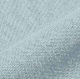 Mandrage 290cm - Blue - Baby blue coloured fabric made with a 50% linen and 50% polyester content
