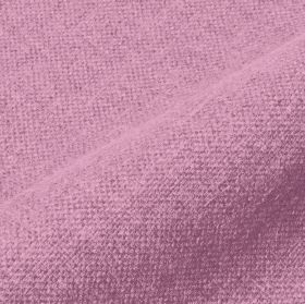 Mandrage - Baby Pink (24) - Lilac coloured linen and polyester blend fabric made with no pattern