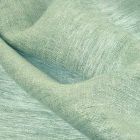 Chunga - Green Blue - Very pale blue coloured fabric made from 100% linen
