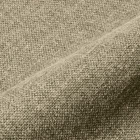 Mandra - Taupe - Fabric woven from grey and white coloured linen and polyester blend threads