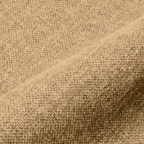 Mandra - Sand (13) - Fabric made from linen and polyester in light cream and brown shades