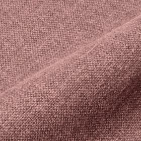 Mandra - Purple Pink - Linen and polyester blend fabric woven with white and dusky purple coloured threads
