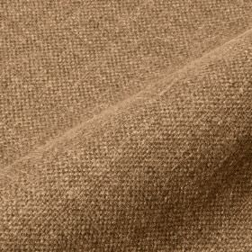 Mandra - Tan - Cream and light brown coloured woven linen and polyester blend fabric