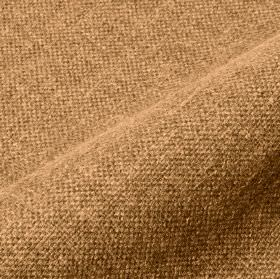 Mandra - Camel (16) - Bronze and warm cream colours combined to create an unpatterned linen and polyester blend fabric
