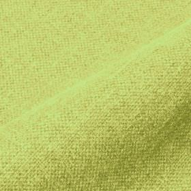 Mandra - Apple Green - Light apple green coloured fabric made from equal parts linen and polyester