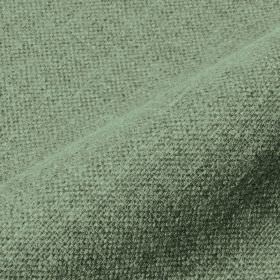 Mandra - Green - Duck egg blue coloured fabric made from a plain combination of linen and polyester