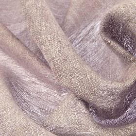 Chunga - Pink (18) - Very thin 100% linen fabric woven from threads in light grey with a very subtle hint of lilac