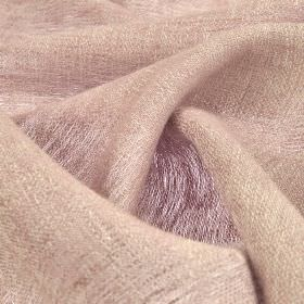 Chunga - Baby Pink (19) - 100% linen fabric woven from a blend of pale lilac and grey colours