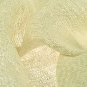Chunga - Cream (2) - 100% linen fabric made in a plain off-white colour