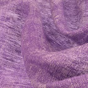 Chunga - Purple - Plain lavender coloured 100% linen fabric