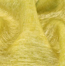 Chunga - Gold - Fabric made from 100% linen in a thin white and golden yellow coloured blend