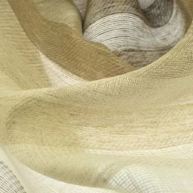Branco - Beige (2) - Very subtle stripes running across 100% linen fabric in several different light shades of grey