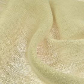Chunga - Light Beige - Chalk white coloured fabric made entirely from linen