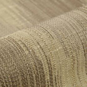 Nila - Brown Beige - Cotton, linen, polyester and viscose blended together into fabric made with various different shades of grey