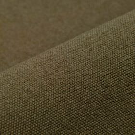 Samba - Brown (11) - Cotton and viscose blend fabric made using mid-grey and brown shades
