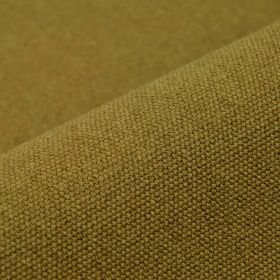 Samba - Camel - Light green-beige coloured cotton and viscose blend fabric